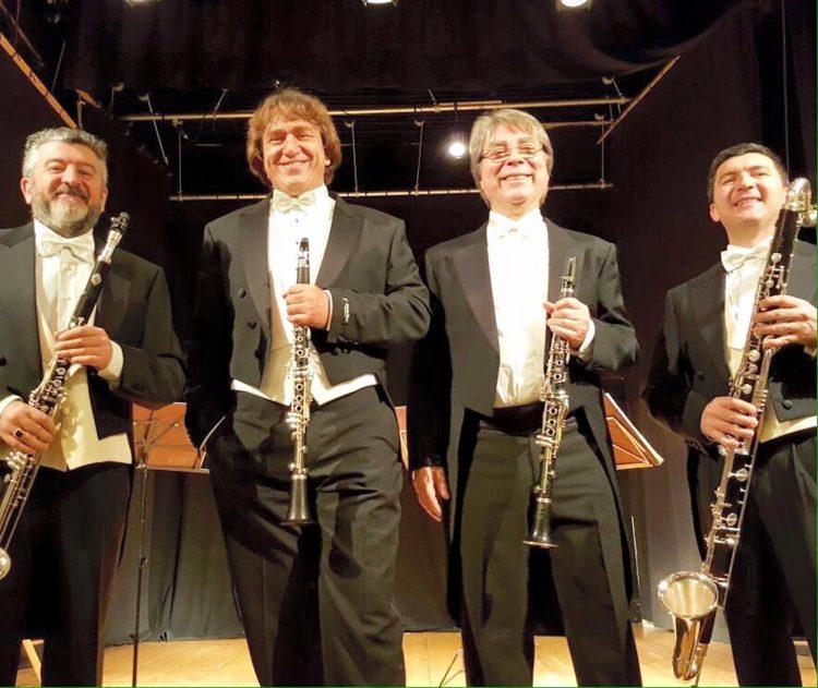 Al via l'11° edizione di Accademie in Valle con il Quartetto Italiano di Clarinetti
