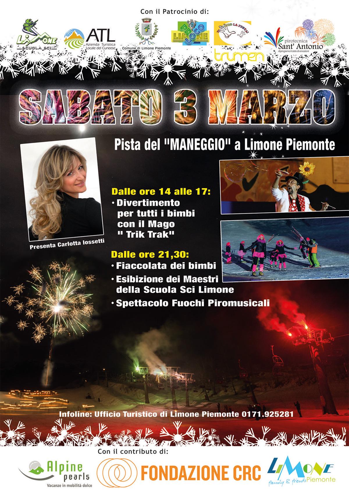 """""""Limone Music & Fun"""" sulla pista del Maneggio a Limone Piemonte"""