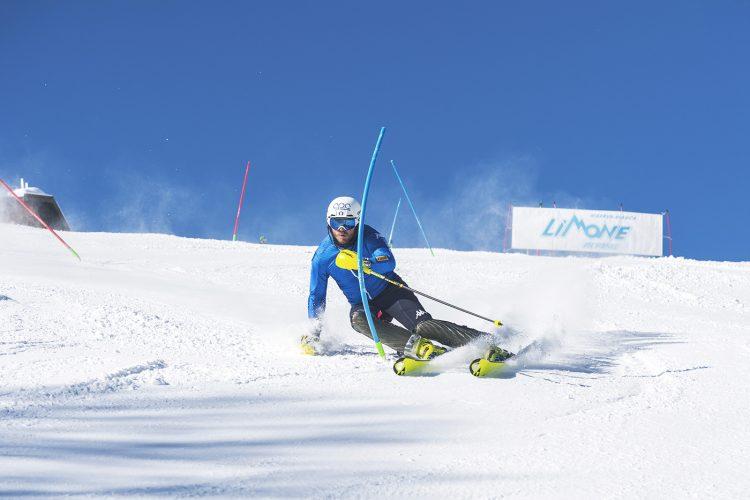 Le piste della Riserva Bianca teatro degli allenamenti della Nazionale maschile di sci alpino