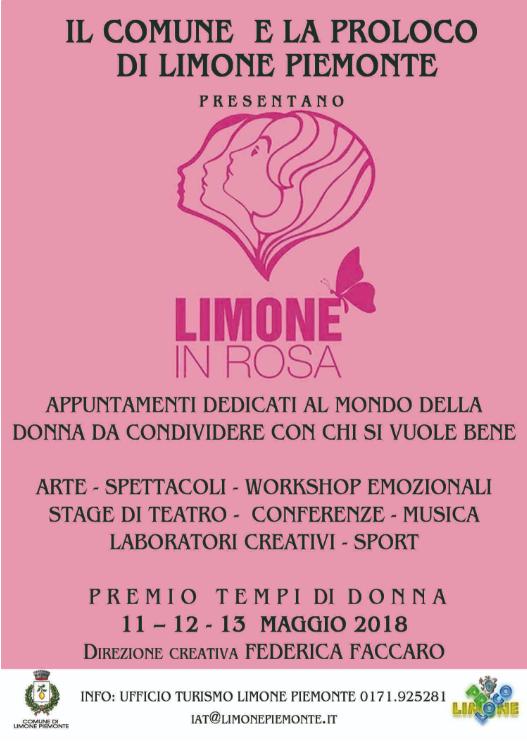"""Al via la 2° edizione di """"Limone in rosa"""": dall'11 al 13 maggio 3 giorni di eventi dedicati alle donne"""