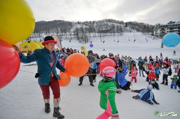 Sabato 24 marzo al Maneggio di Limone giochi, musica e animazione sulla neve