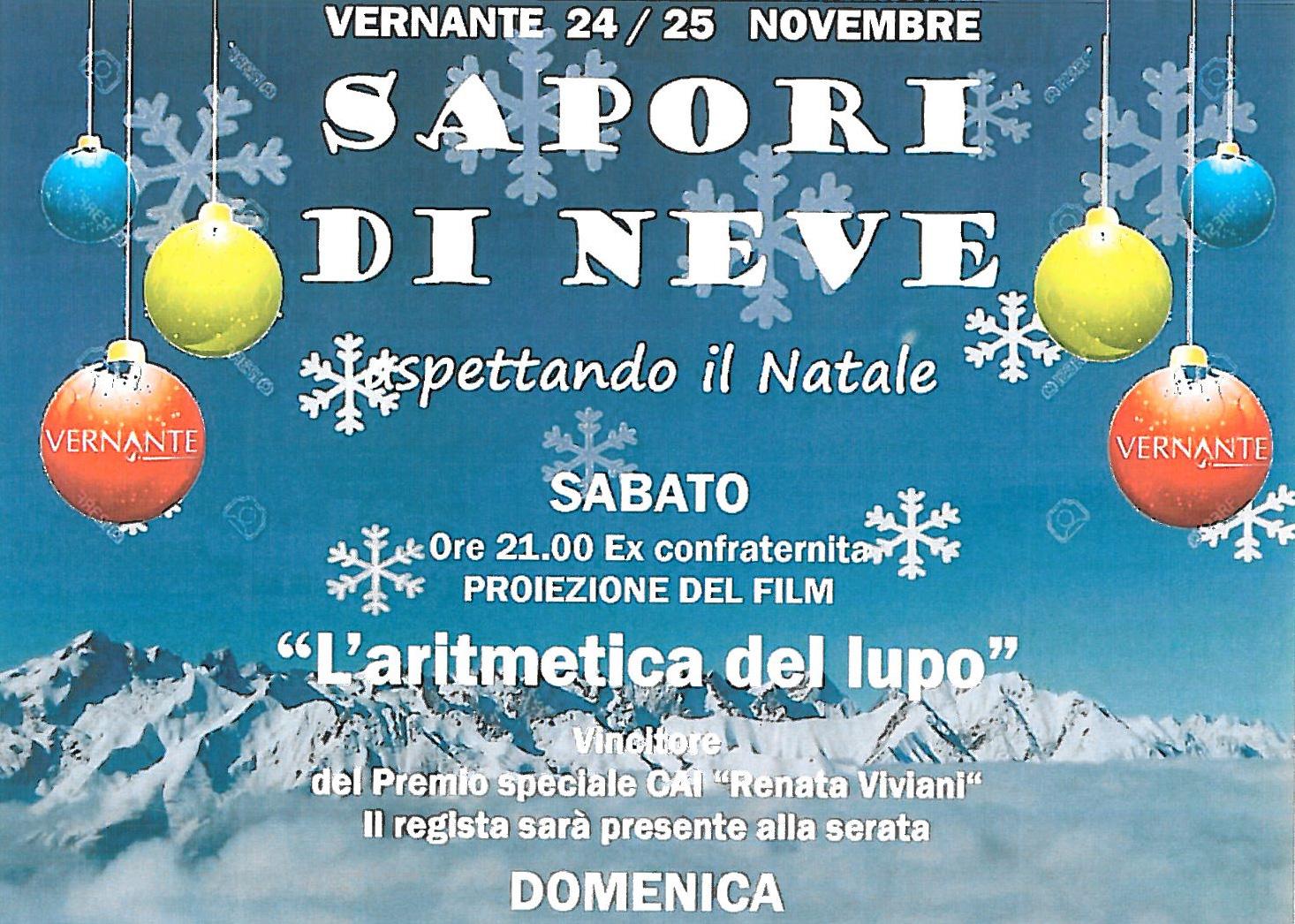 Sapori di neve: appuntamento a Vernante il 24 e 25 novembre